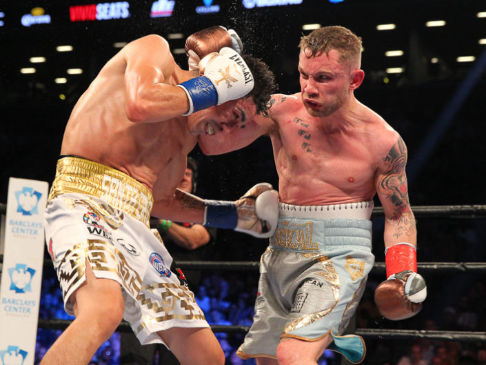 Frampton vs Santa Cruz At Barclays Center