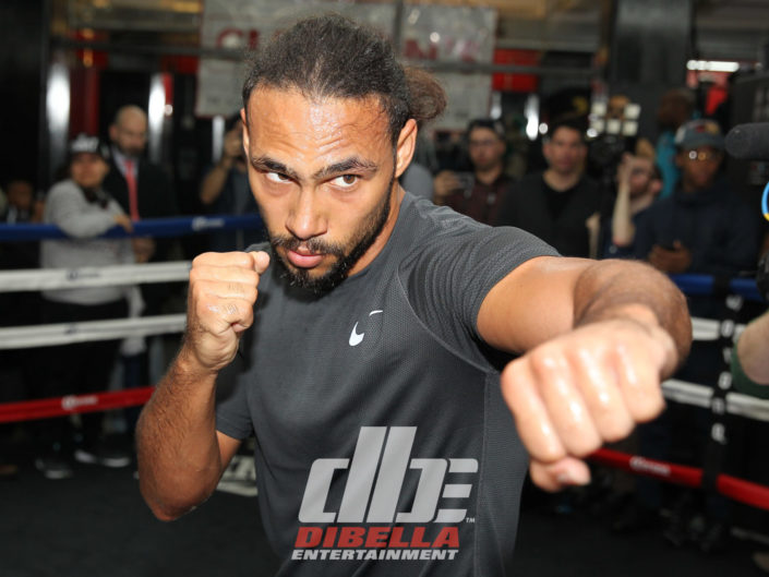 Thurman vs Garcia Media Workouts