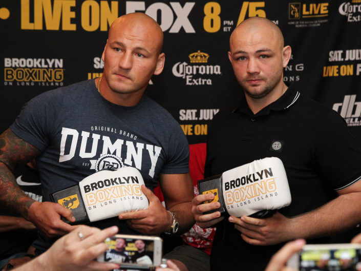 Artur Szpilka & Adam Kownacki Press Conference
