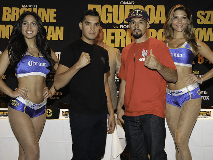 Figueroa vs Guerrero Press Conference