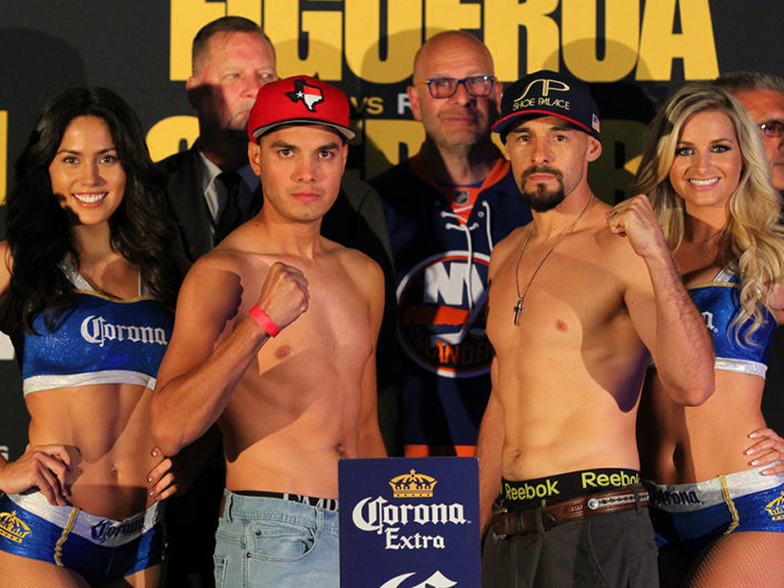 Figueroa vs Guerrero Weigh-ins