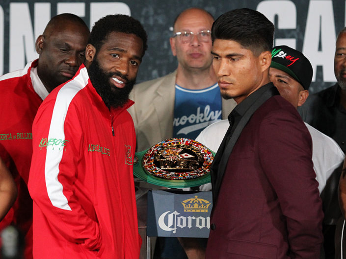 Adrien Broner vs. Mikey Garcia Final Press Conference