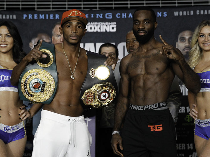 Erislandy Lara vs Terrell Gausha Weigh-Ins