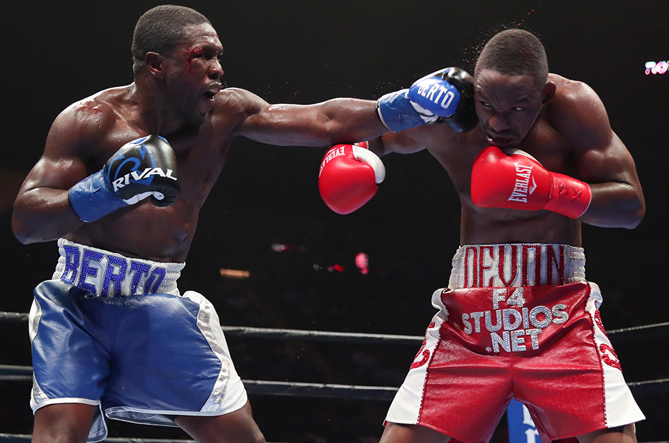 Andre Berto Edges Devon Alexander by Split-Decision in Battle of Former World Champions that Headlined Premier Boxing Champions on FOX & FOX Deportes Saturday Night from NYCB LIVE, Home of the Nassau Veterans Memorial Coliseum