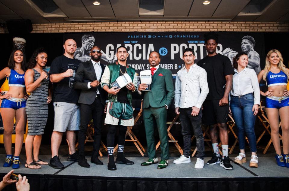 DANNY GARCIA VS. SHAWN PORTER  FINAL PRESS CONFERENCE QUOTES & PHOTOS