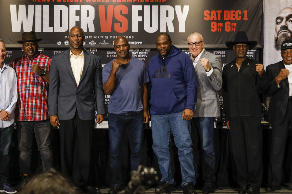 HEAVYWEIGHT LEGENDS ROUNDTABLE QUOTES & PHOTOS