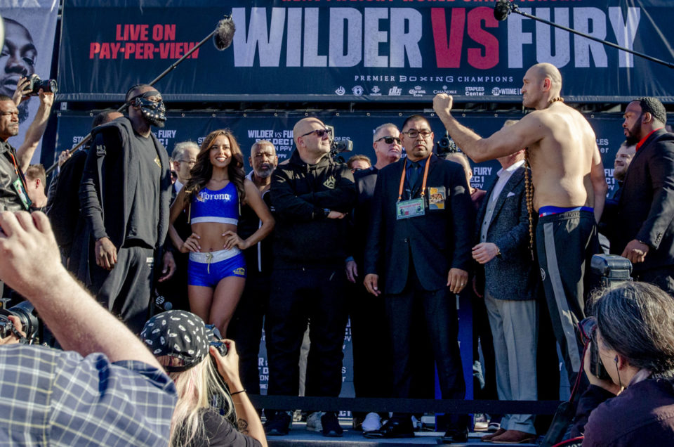 DEONTAY WILDER vs. TYSON FURY FINAL WEIGHTS, PHOTOS & COMMISSION OFFICIALS FOR BLOCKBUSTER HEAVYWEIGHT SHOWDOWN SATURDAY LIVE ON SHOWTIME PPV®