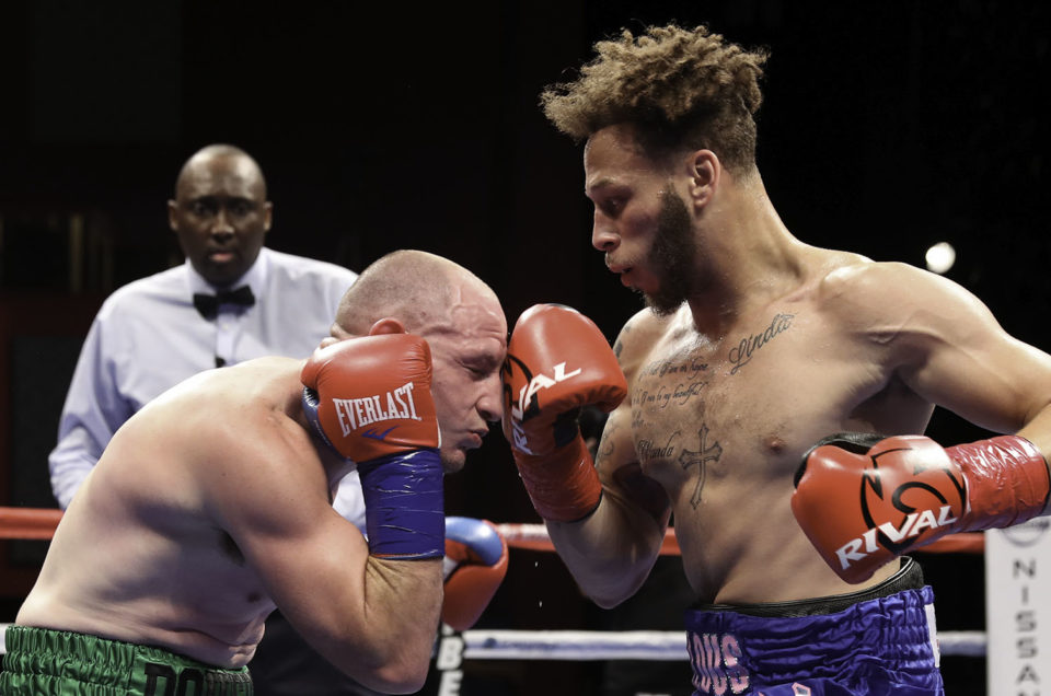 TOP JUNIOR WELTERWEIGHT PROSPECT MYKQUAN WILLIAMS RE-SIGNS WITH DIBELLA ENTERTAINMENT