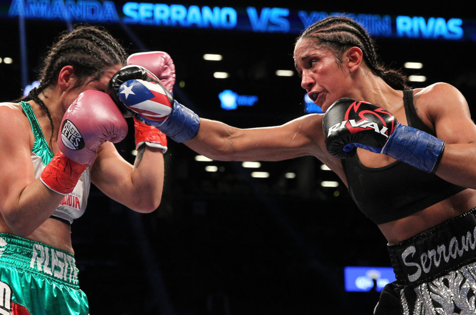 AMANDA SERRANO SEEKS RECORD SEVENTH DIVISION WORLD TITLE FRIDAY, JANUARY 18 HULU THEATER AT MADISON SQUARE GARDEN LIVE ON DAZN