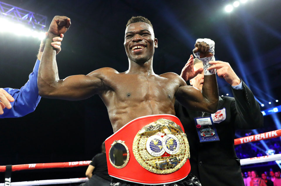 Richard Commey Crushes Chaniev To Win IBF Lightweight Title