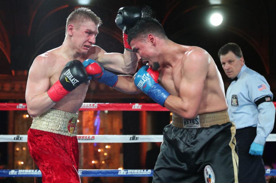 IVAN GOLUB DOMINATES MANUEL REYES TO DEFEND WBC USNBC WELTERWEIGHT TITLE