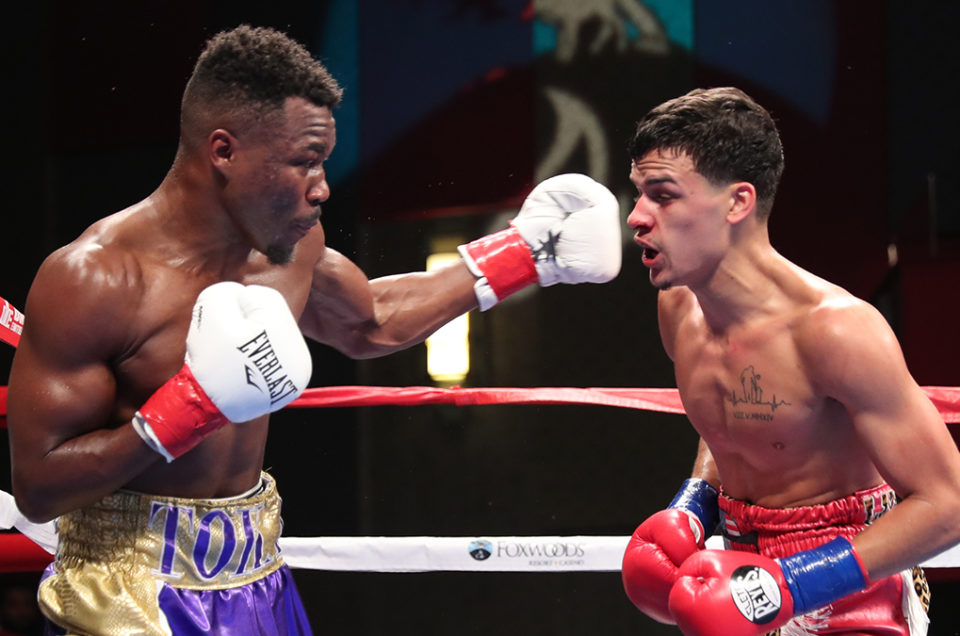TOKA KAHN CLARY SEIZES WBA NABA US SUPER FEATHERWEIGHT TITLE IN BROADWAY BOXING THRILLER STREAMED LIVE ON UFC FIGHT PASS FROM FOXWOODS RESORT CASINO, IN MASHANTUCKET, CT