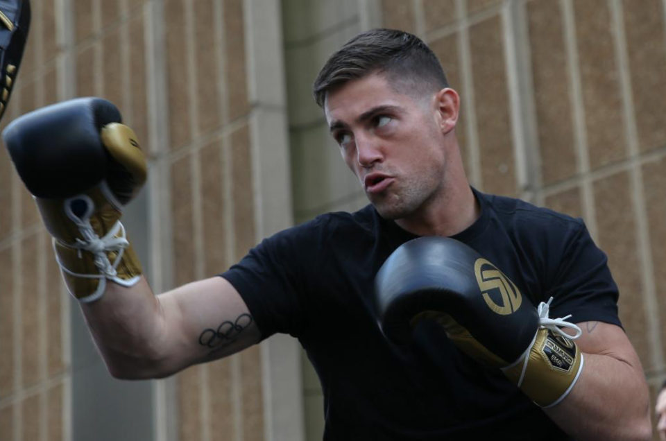 "IRISH AMATEUR STAR ""MIGHTY"" JOE WARD   MAKES HIS PROFESSIONAL DEBUT THIS SATURDAY NIGHT AT MADISON SQUARE GARDEN ON GOLOVKIN-DEREVYANCHENKO UNDERCARD"