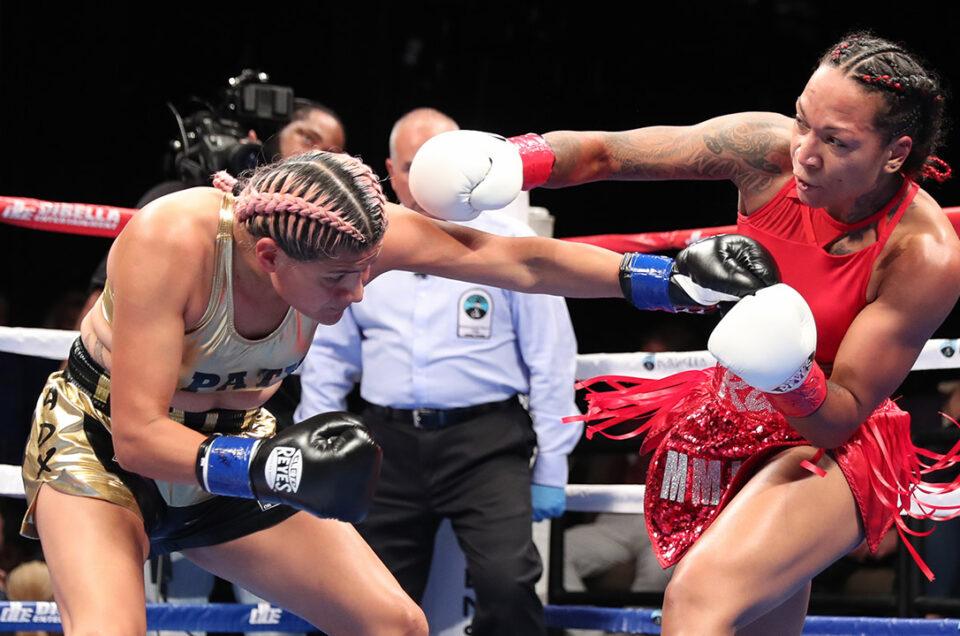 KALI REIS AND KANDI WYATT VIE FOR THE VACANT WBA SUPER LIGHTWEIGHT WORLD TITLE