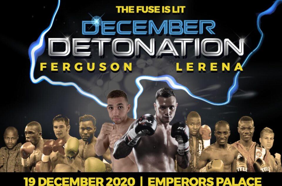 TUNE-IN ALERT: SOUTH AFRICAN STAR KEVIN LERENA HEADLINES DECEMBER DETONATION LIVE ON UFC FIGHT PASS TOMORROW 12:15PM ET 9:15AM PT