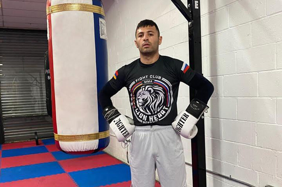 JUNIOR WELTERWEIGHT CONTENDER PETROS ANANYAN IS BACK IN THE U.S. SEEKING BIGGEST CHALLENGES