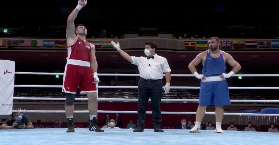 "TUNE-IN ALERT!!  ""THE BIG UZBEK"" BAKHODIR JALOLOV COMPETES IN QUARTERFINALS AT TOKYO OLYMPICS TONIGHT"