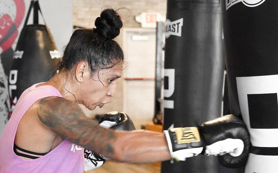 """ALMA IBARRA SEEKS THE OPPORTUNITY OF A LIFETIME IN THE """"THRILLA FOR CASKILLA"""" LIVE TOMORROW NIGHT ON UFC FIGHT PASS"""
