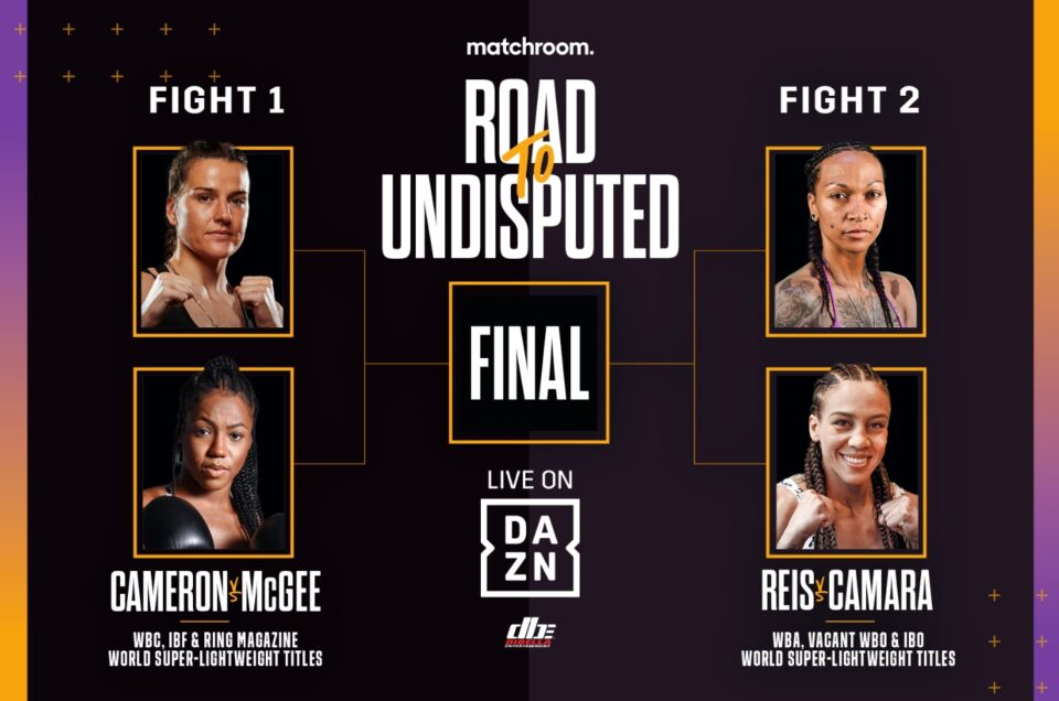 THE ROAD TO UNDISPUTED: WOMEN'S 140LBS CROWN UP FOR GRABS IN FOUR-WAY SHOWDOWN